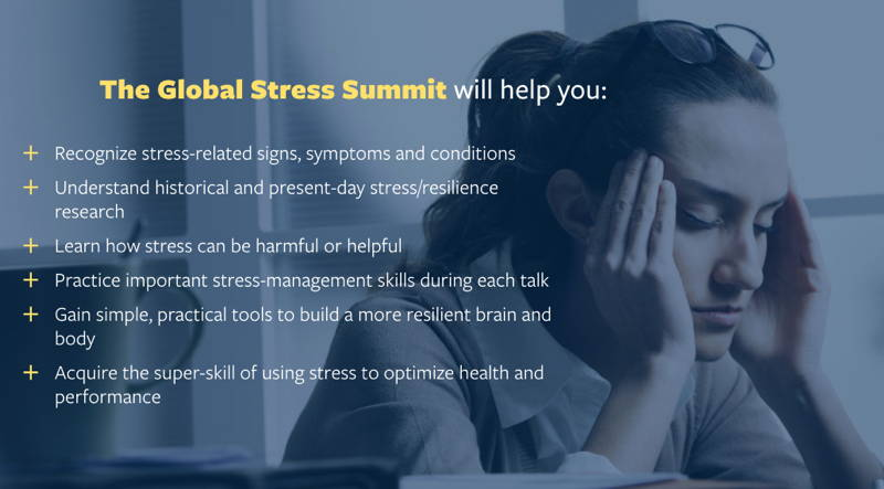 The Global Stress Summit - Transform Stress for Good | Anxiety and Stress Relief Resources